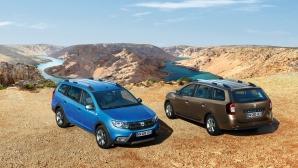 Dacia представят Logan MCV Stepway (Снимки)