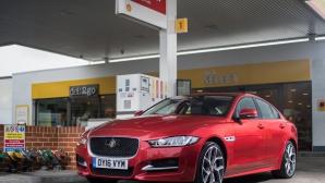 Jaguar и Shell вече ти позволяват да плащаш от колата си (Видео)