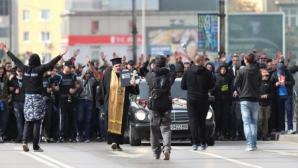 Стефанов за феновете на Левски: На тяхното погребение катафалки ли ще разнасят?