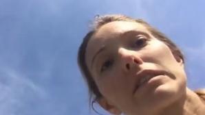 Съпругата на Новак Джокович го напсува в ефир (видео)