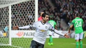 Лесна победа и Ман Юнайтед е в следващата фаза (видео)