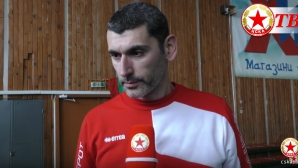 Александър Попов: Готови сме да бием Левски (видео)