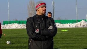 Валентин Илиев: Доволен съм от моите футболисти, учим се от грешките