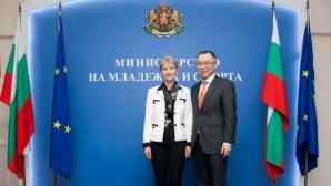 Проф. Дашева се срещна с посланика на Япония у нас