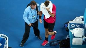 Тенисистите злоупотребяват с медицинския таймаут?