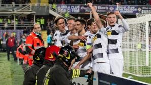 Луд мач в Италия: Борусия (М) с грандиозен обрат срещу Фиорентина (видео)