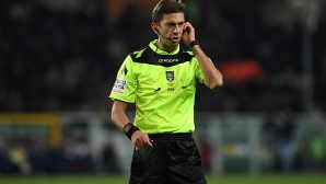 Паоло Талявенто ще ръководи сблъсъка Интер - Рома