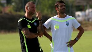 Костадин Ангелов: Максимумът за нас този сезон е първото място