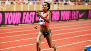 Гензебе Дибаба се размина със световния рекорд на 1000 м