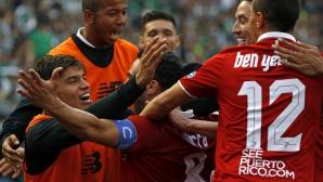 Севиля се изравни с Реал Мадрид след обрат в горещото дерби (видео)