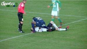 Футболист от Того спаси живота на вратар в Чехия (видео)
