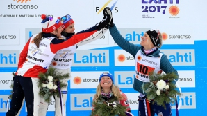 Норвегия спечели световната титла в отборния спринт в ски бягането при дамите