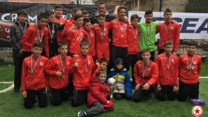 Борносузов подчерта, че резултатите не са най-важни за юношите на ЦСКА-София