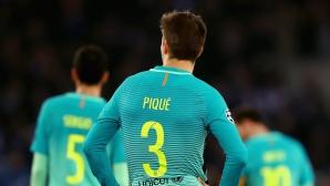 Пике възропта яростно след дузпата на Реал Мадрид