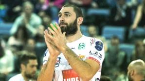 Кучине Лубе и Цветан Соколов завършиха редовния сезон в Италия с поражение
