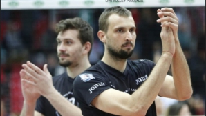 Виктор Йосифов с 4 блокади, Модена удари Пиаченца