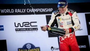 Лидерът във WRC призна за доскорошната си загуба на мотивация