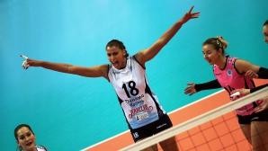 Супер Ели Василева с 18 точки, Динамо (Казан) тръгна с победа в плейофите в Русия (видео + снимки)