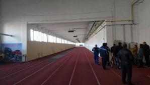 Покритата лекоатлетическа писта в Сливен ще се отоплява с газова инсталация