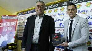 Христо Янев хвали своите момчета след мача с Лудогорец