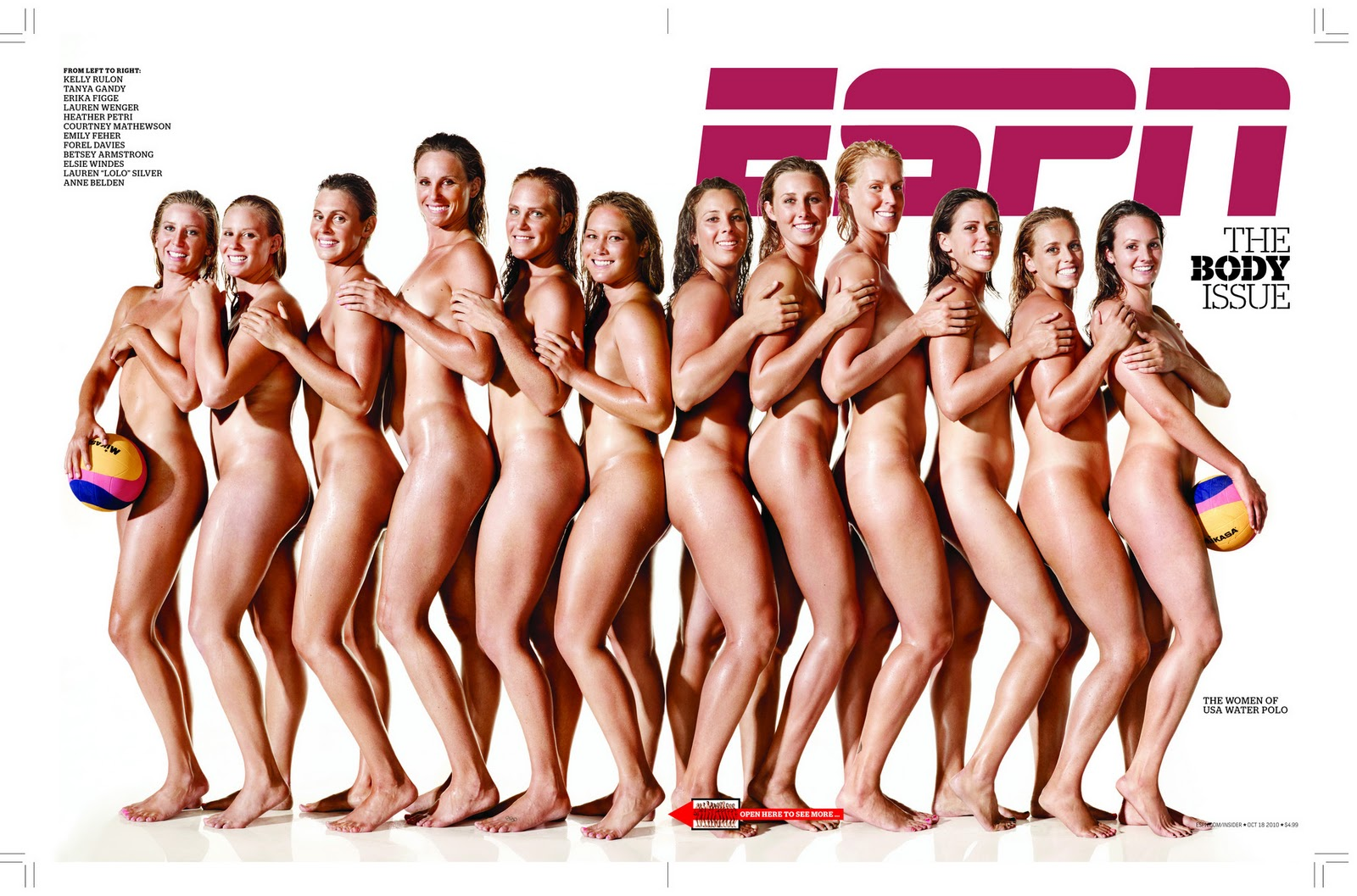 Body espn issue nude female athletes 15
