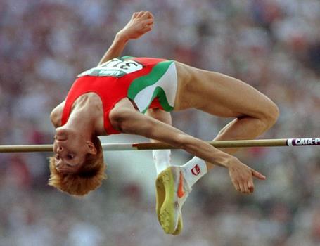 Katya Dafovska, Olymp. champion biathlon Hristo Stoichkov, A Golden ball...