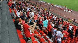 Еуфория при головете на ЦСКА въпреки протеста