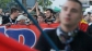 Ултрасите на Стяуа с шествие в София