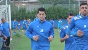 Чилиецът Маурисио Гомес започна тренировки с Левски