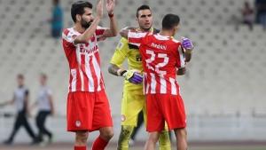 Олимпиакос - Атлетико (Мадрид) 3:2