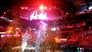 Уникална атмосфера след световната титла на Полша по волейбол