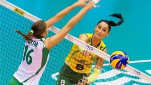 Бразилия - България 0:3 (19:25, 22:25, 16:25)