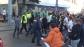 Ексклузивно: Екшън пред стадиона, полицията охлади феновете на Реал