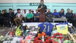 Трагедия: футболист почина след празнуване на гол