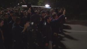 Само в Sportal.bg: Шествието на ултрасите на Базел в центъра на София от 3 гледни точки