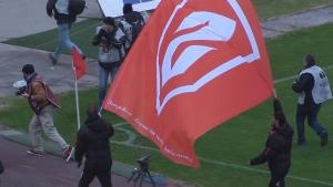 "Стойчо Младенов и Тодор Янчев подариха огромно знаме на Сектор ""Г"""