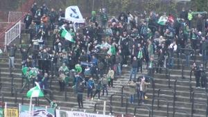 Феновете на Лудогорец се кефят след гола на Ешпиньо