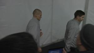 Стиви Джи остана безмълвен пред журналисти и фенове