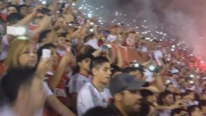 Вижте радостта на феновете на Ривър Плейт след победата над Бока