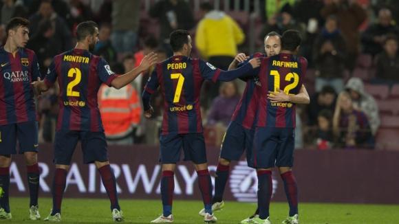 Барселона - Уеска 8:1