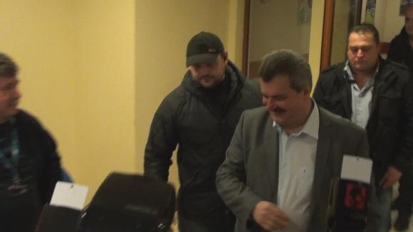 Батков дойде за важното общо събрание на Левски