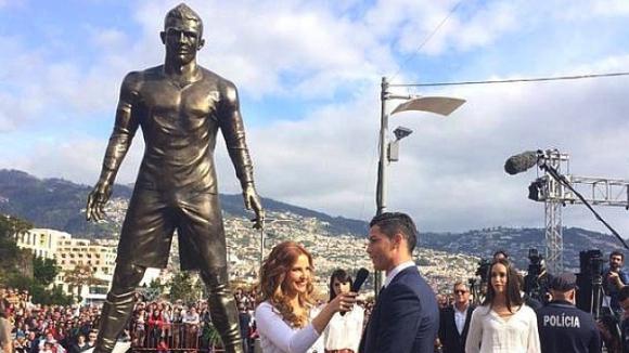 Мадейра издигна бронзова статуя на Кристиано Роналдо