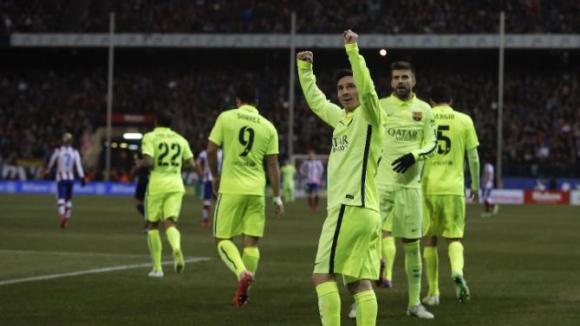 Атлетико Мадрид - Барселона 2:3