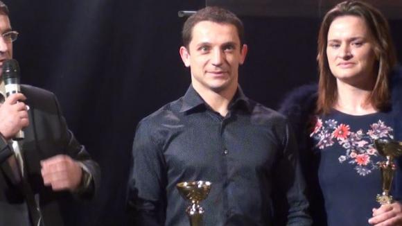 Борис Борисов и Мария Оряшкова са спортисти на ЦСКА за 2014 година