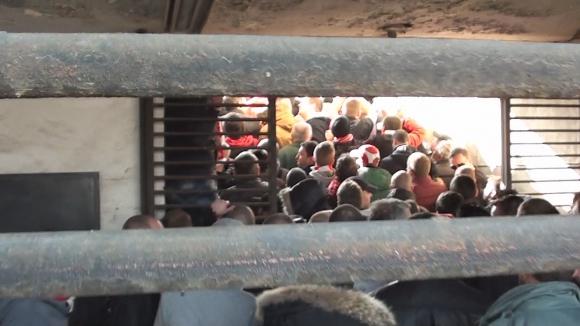 """Жестоко риалити: Ето как се влиза на стадиона в """"Надежда"""""""