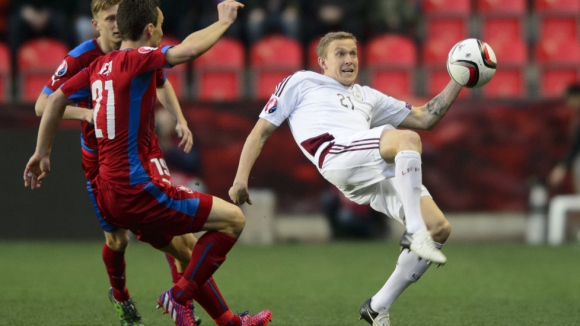 Чехия - Латвия 1:1