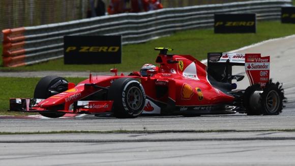 Вижте радостта на Фетел след триумфа на Ферари за Гран при на Малайзия