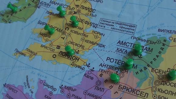 Вече има карта на армейските футболни походи из Европа