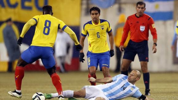Аржентина - Eквадор 2:1
