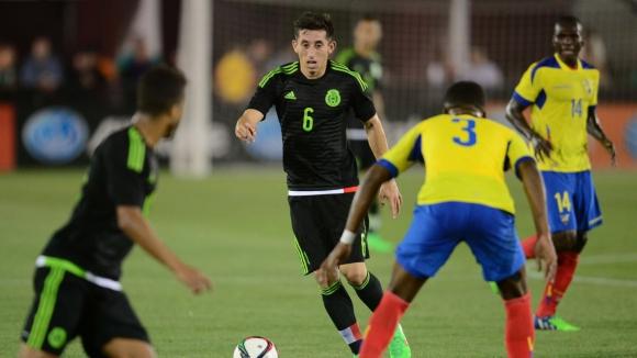 Мексико - Парагвай 1:0
